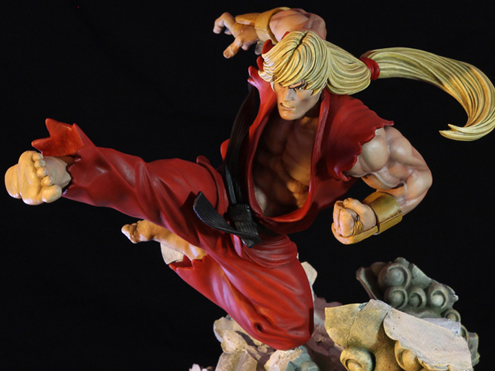 Street Fighter Ii Battle Of Brothers Ken Masters 1 6 Scale Limited