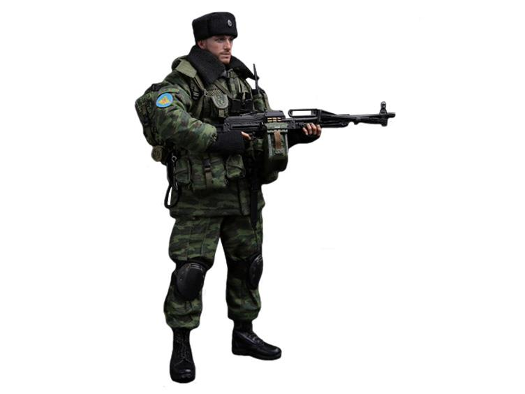 Canteen /& Pouch Russian PKP Gunner 1//6 Scale Damtoys Action Figures