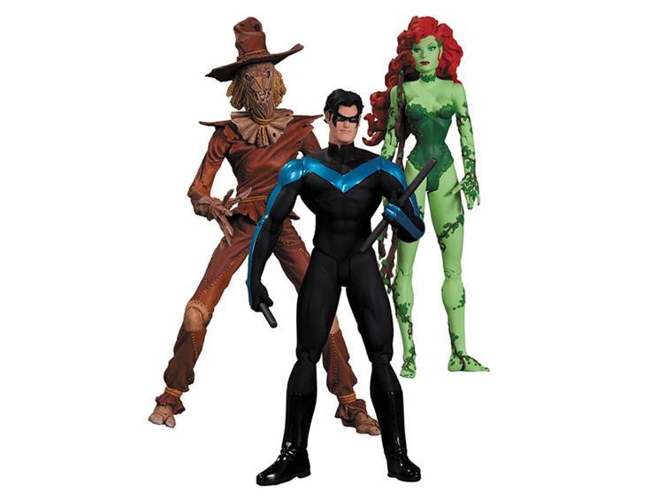 Batman Hush Three Pack Scarecrow Nightwing Poison Ivy