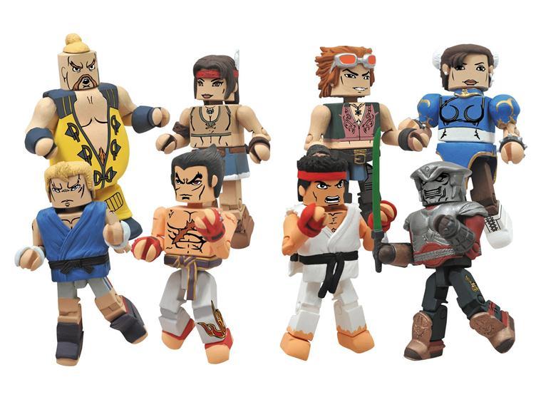 Street Fighter X Tekken Minimates Series 2 Rufus
