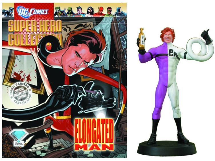 Dc Super Hero Collection 119 Elongated Man