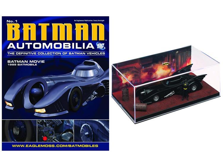 Batman The Movie 1989 Batmobile DC Automobilia Eaglemoss
