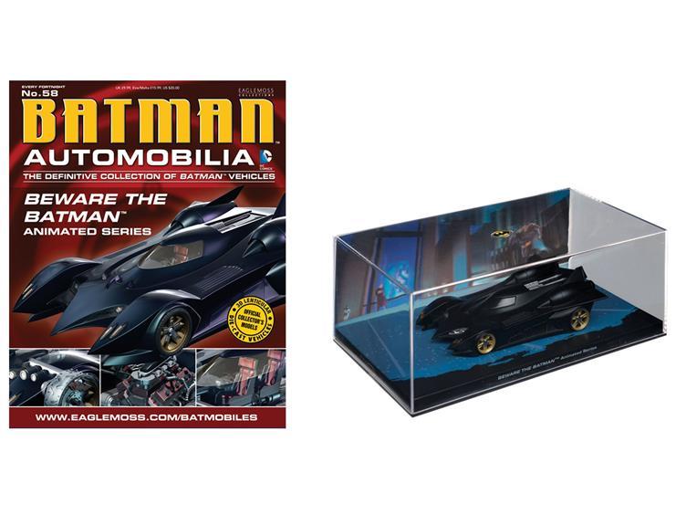 1941 Eaglemoss Batman Auto Collection n MIB 8 Batmobile BATMAN #5