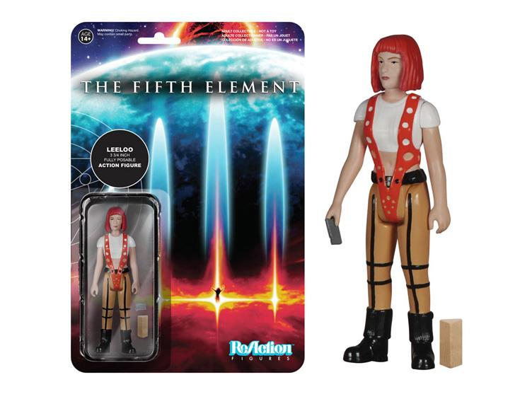 Fifth Element ReAction Action Figure Leeloo