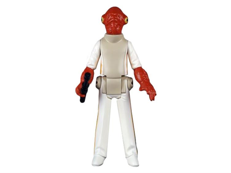 Gentle Giant Star Wars Kenner Admiral Ackbar Jumbo Figurine