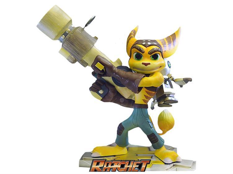 Ratchet Clank Statue Le 750