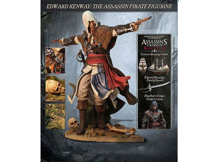 Assassin S Creed Iv Black Flag Edward Statue