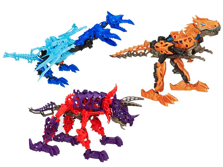 Transformers 4 Age Extinction Construct-Bots Dinobot Slug