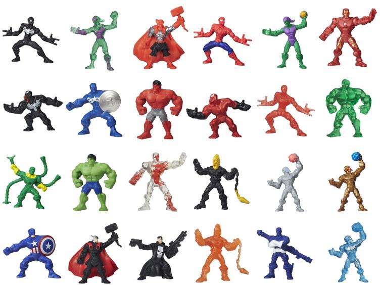 Lot of 3 Marvel 500 Micro Series 4 Mystery Blind Pack Action Figure NEW SEALED