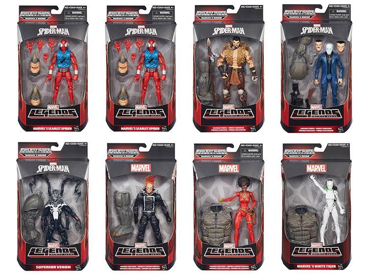 Marvel Legends Infinite Series Marvels Scarlet Spider