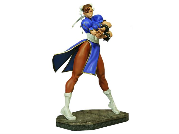 Street Fighter 1 4 Scale Chun Li Statue