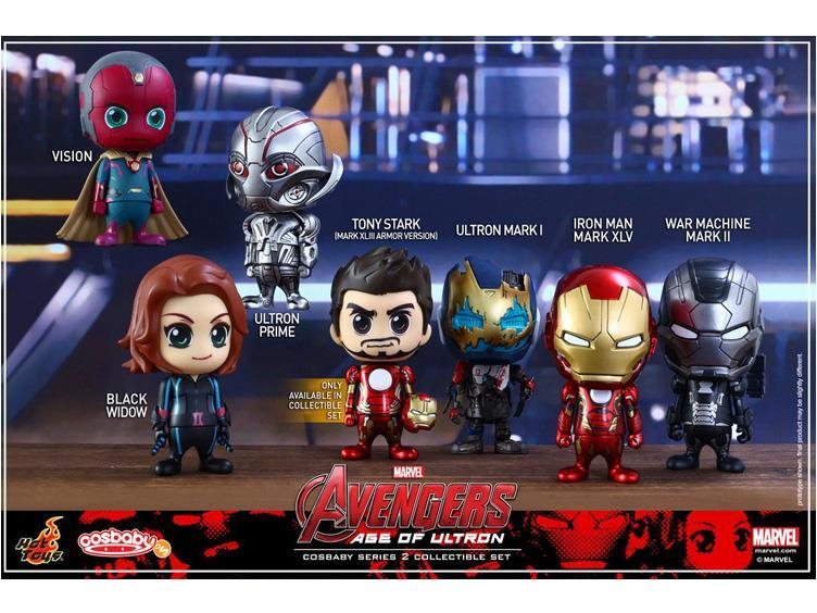HOT TOYS Avengers 2 Age Of Ultron Series 2 Cosbaby Figure Set 7