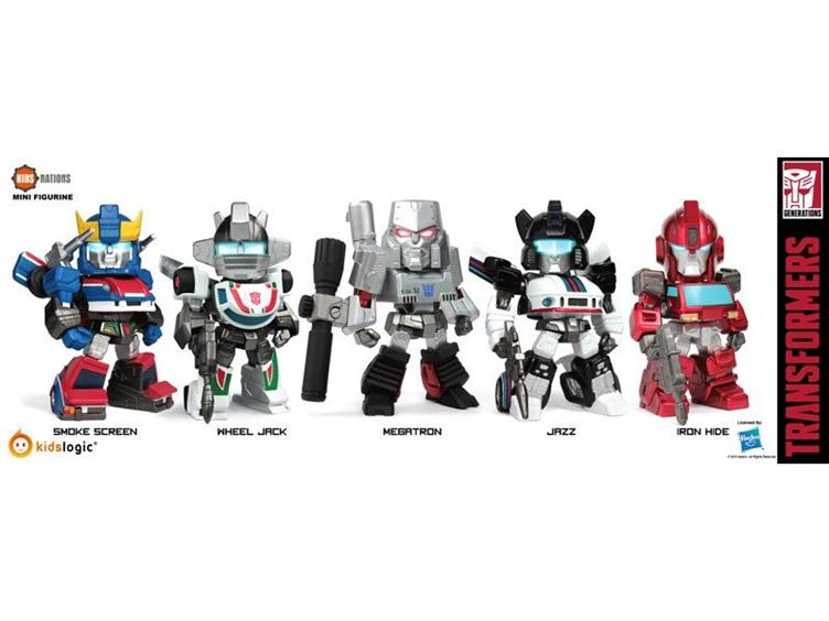 Transformers Mecha Nation Kids Logic Kids Nations TF-03 Set of 5 LED figure SALE
