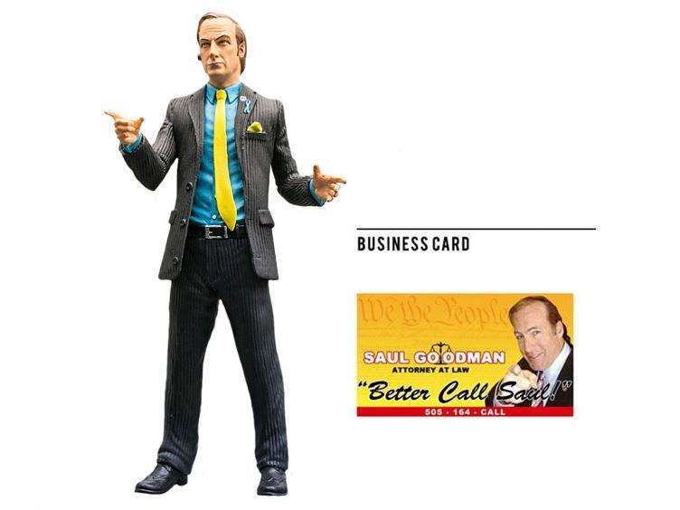"""Saul Goodman 6/"""" Action Figure #NEW BREAKING BAD Mezco"""