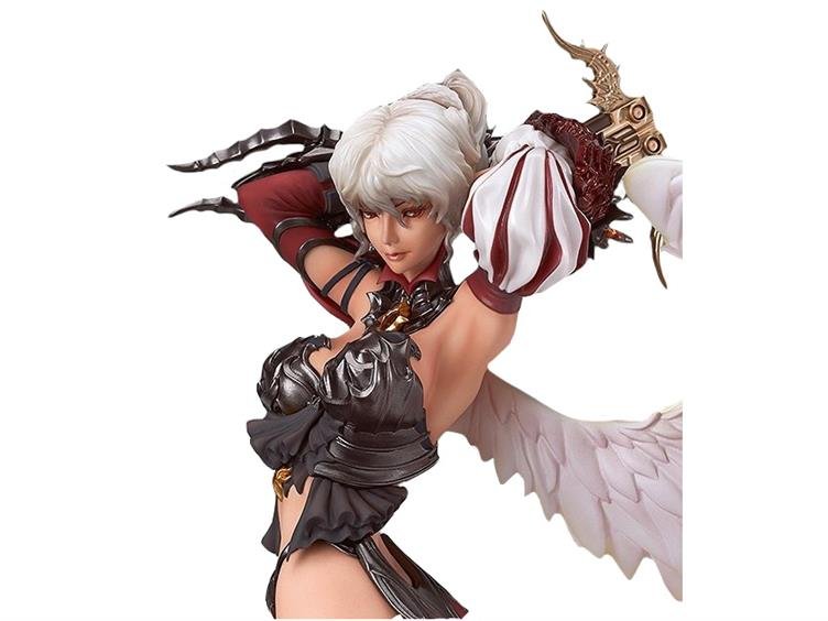 """MMORPG Lineage II /""""Kamael /"""" 1//7 scale Max Factory free Expedited about 9.4 inch"""