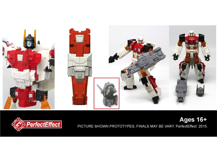 New Transformers toy AMO PC-03 Combiner Upgrade Set:Superion Set In stock