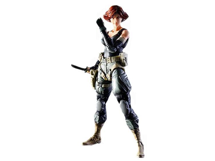 Metal Gear Solid Play Arts Kai Meryl Silverburgh