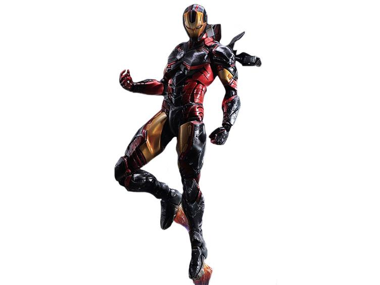 Play Arts Kai Marvel Square-ENIX IRON-MAN Action Figure Toy