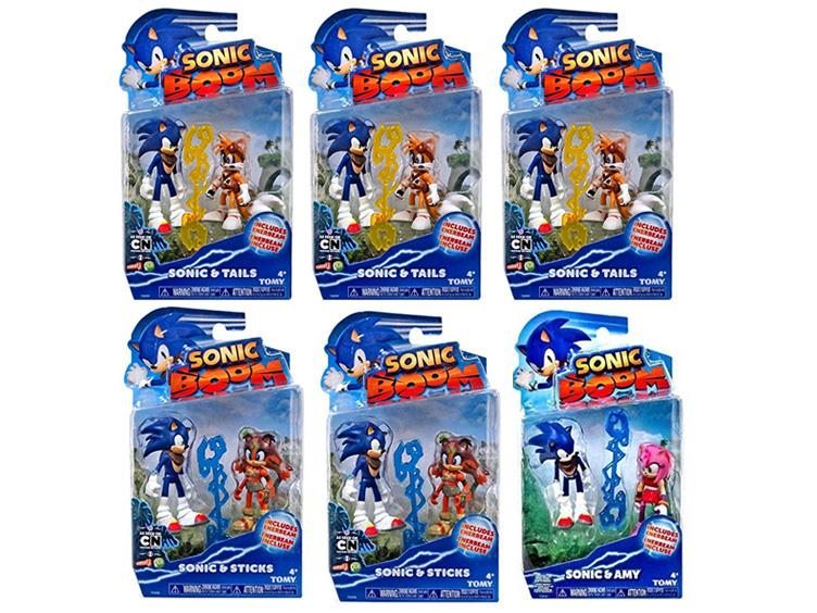 Sonic Boom 3 Figure Two Pack Series 02 Case Of 6