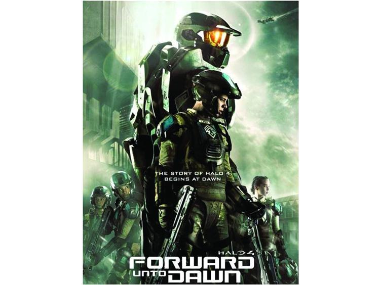 Halo 4 Forward Unto Dawn Blu Ray