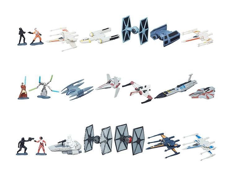 Star wars MICRO MACHINES Obi Wan/'s Jedi Starfighter HASBRO