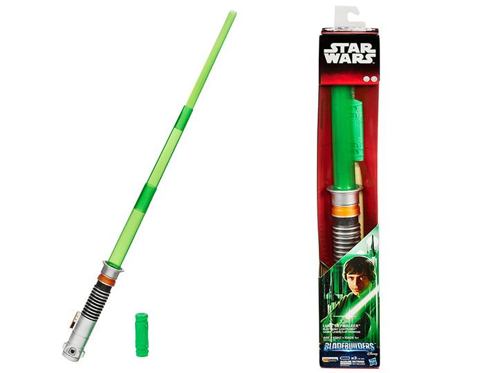 Star Wars Bladebuilders Luke Skywalker Return Of The Jedi Electronic Lightsaber