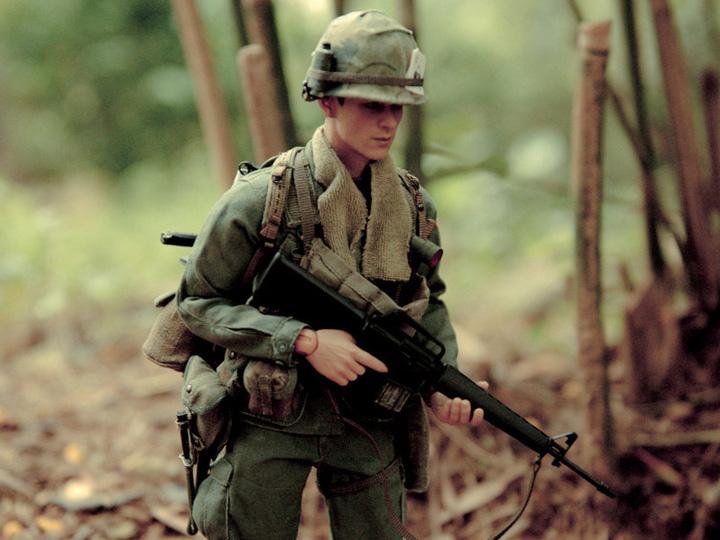 ACE CANTEEN Operation Cliff Dweller IV 1970 1//6 Action Figure Toys Vietnam dam