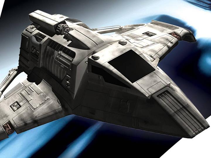 Star Trek Bajoran Raider Model with Magazine #74 by Eaglemoss