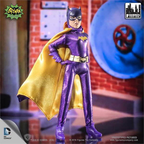 Vintage DC Comics Bat Girl Action Figure with Cape 1990s Comics