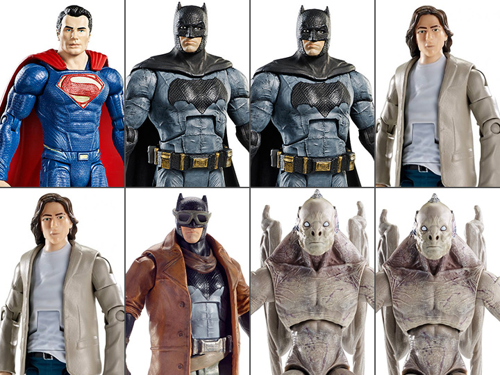 Batman Figure Collect /& Connect DC Comics Multiverse Batman v Superman