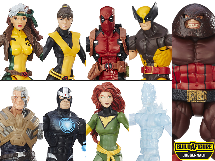 Marvel Legends JUGGERNAUT Right Arm Build-A-Figure BAF X-MEN Series