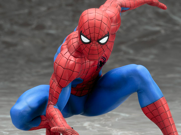 STATUE The Amazing Spider-Man Spiderman Marvel Toys Action Figures ARTFX