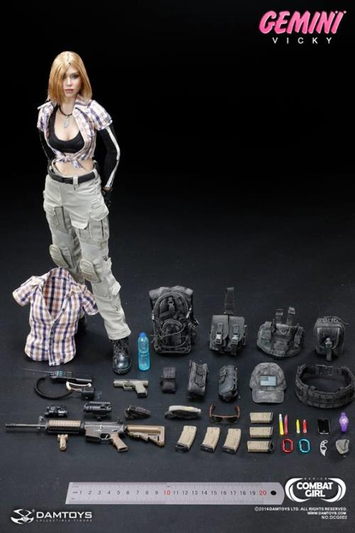 VICKY Radio 1//6 scale Combat Girl Series Female PMC GEMINI