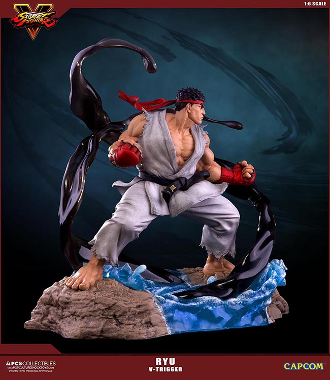 Street Fighter V Ryu 10 Inch BAF Figure Statue Regular And Variant Capcom 2006