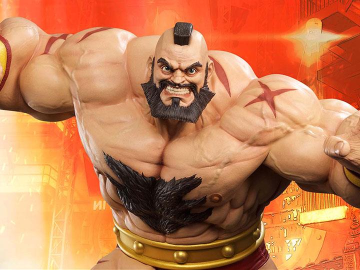 Street Fighter Zangief 1 4 Scale Statue