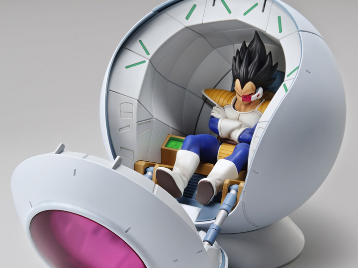 DRAGON BALL  Figure rise Mecha Saiyan Space Pod Model Kit Bandai
