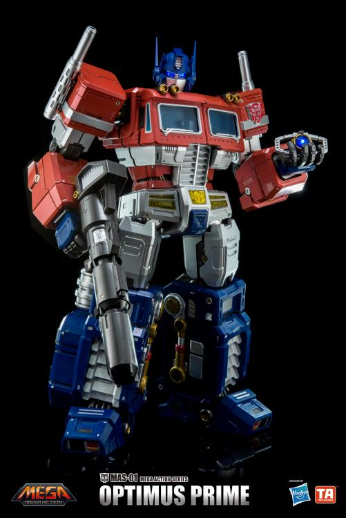 "NEW Transformers toy Hasbro MAS-01 Optimus Prime Mega 18/"" Action Figure New"