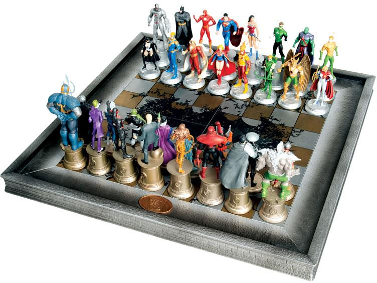 Eaglemoss DC Chess Collection Variants
