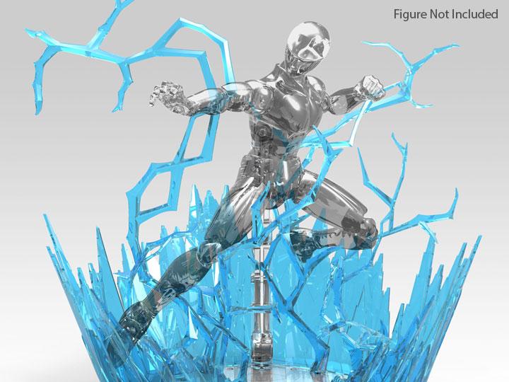 blue Bandai Figure Rise Effect Aura Effect