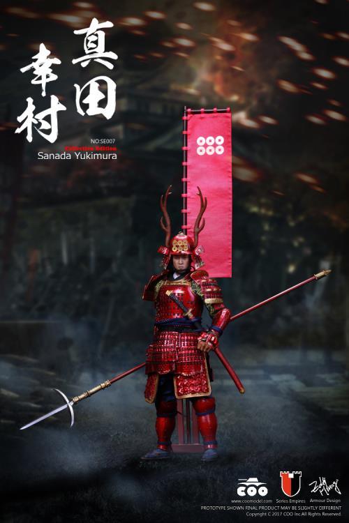 COO Models Japan Samurai Sanada Yukimura METAL Gauntlets loose 1//6th scale