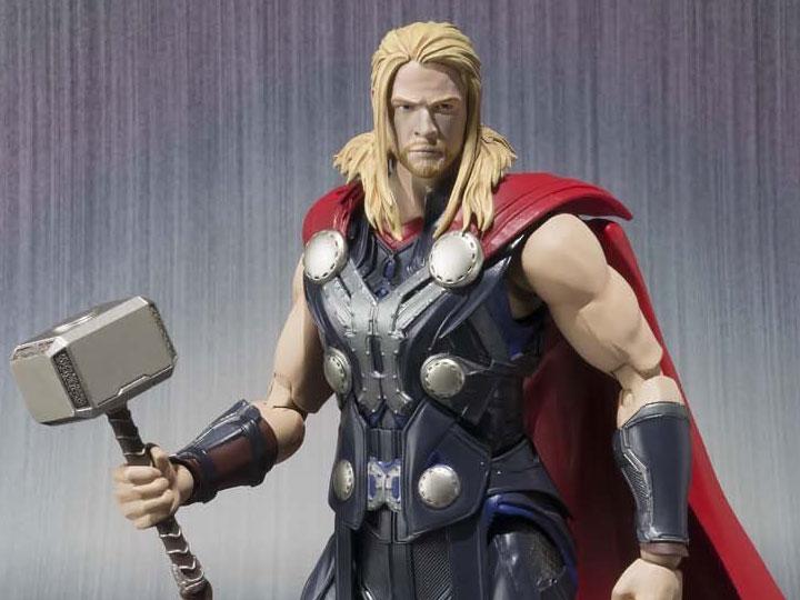 Thor S.H Avengers Age of Ultron MARVEL Figuarts Action Figure Bandai
