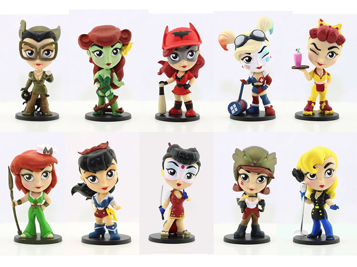 DC Comics Lil Bombshells Series 3 Vinyl Figure Complete your Collection