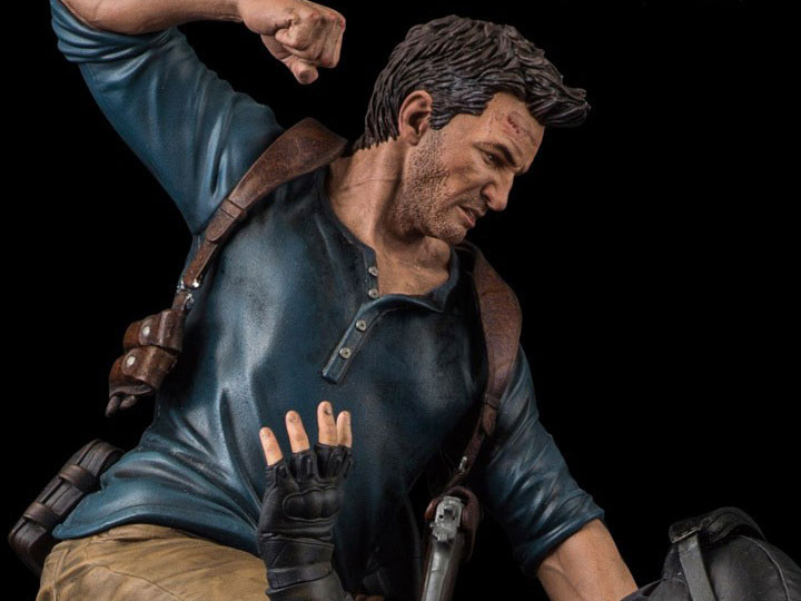 Uncharted 4 A Thiefs End 1 6 Scale Statue Nathan Drake