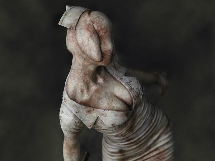 Silent Hill 2 Bubble Head Nurse 1 6 Scale Statue Le