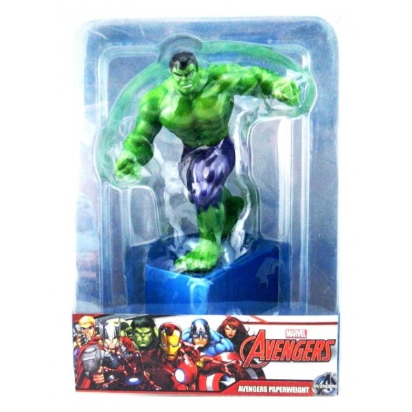 Marvel The Hulk Resin Figure Paperweight Set
