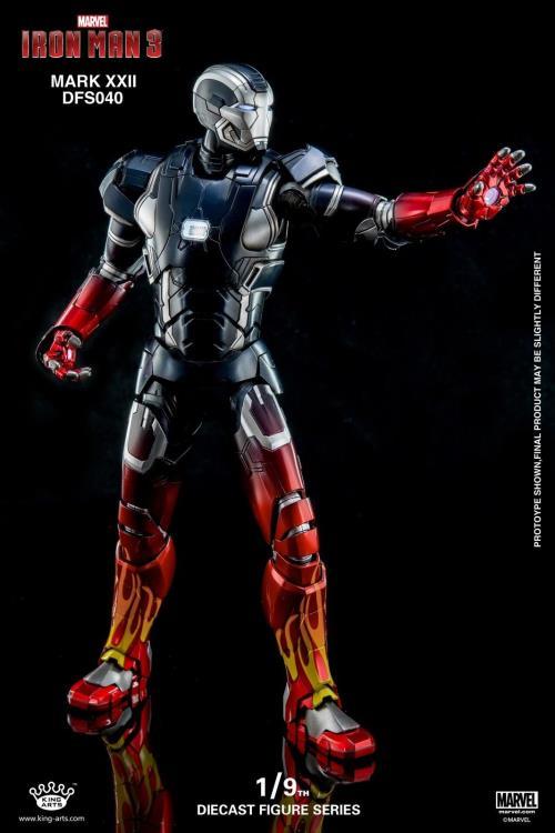 King Arts Iron Man Mark XXII Hot Rod 1//9 figurine articulée