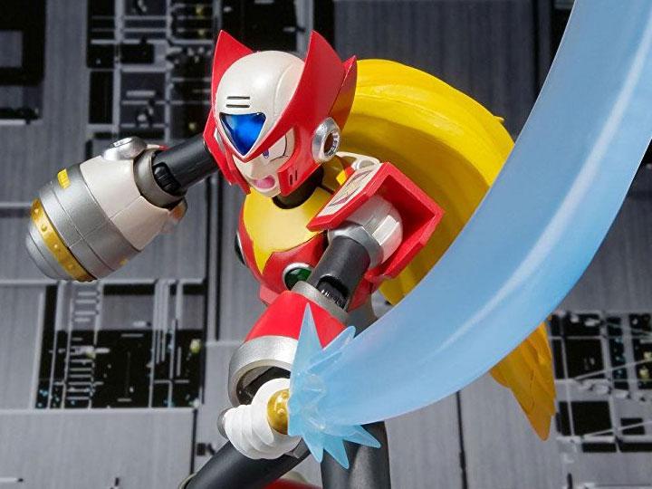 Bandai Zero inches Megaman inches D-Arts Type 2