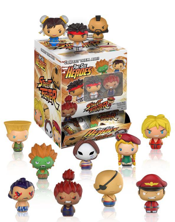 FUNKO Street Fighter  Pint Size Heroes Mini-Figure E-HUNDA 1//12