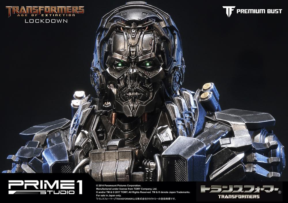 Transformers Age Of Extinction Lockdown Bust