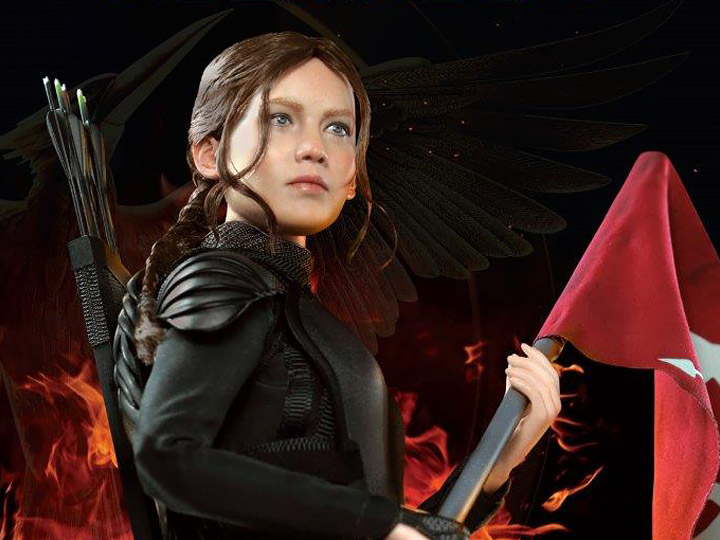 The Hunger Games Mockingjay Katniss Everdeen 1 6 Scale Figure